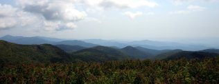 Blue Ridge vistas